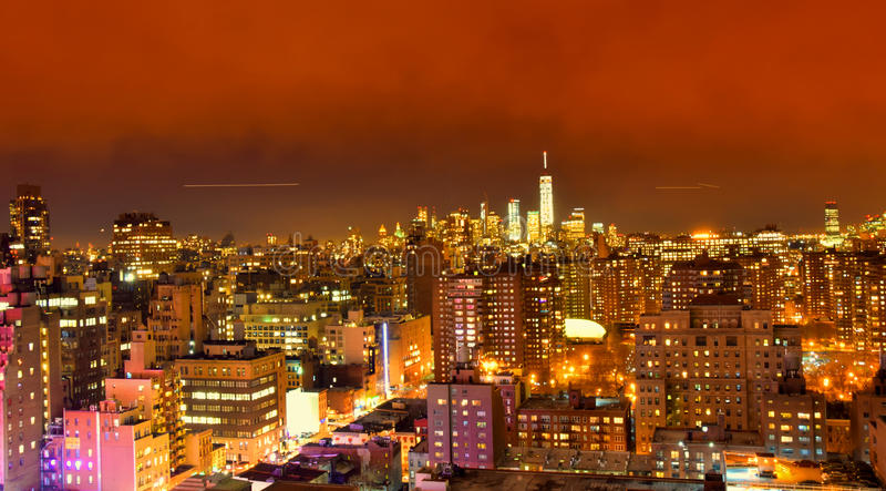 Horizon de New York City images stock