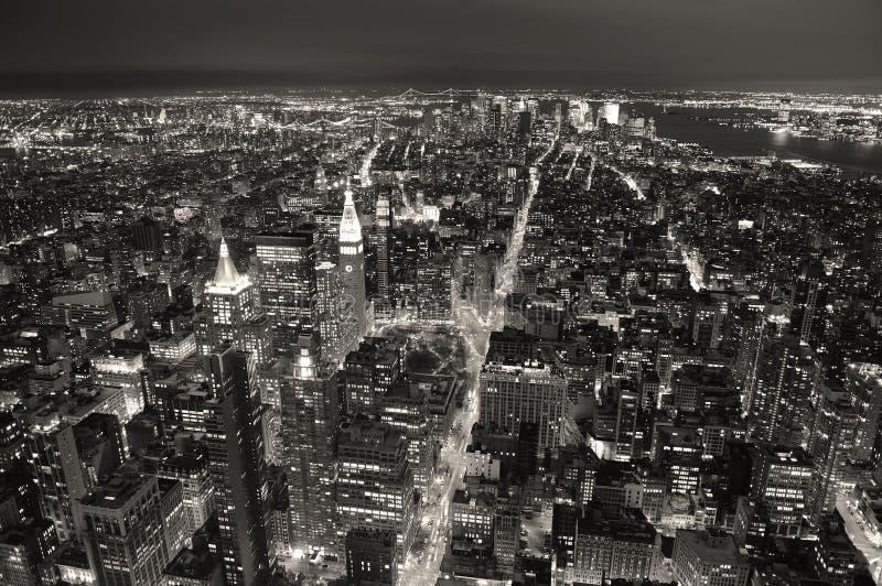 Horizon de New York City Manhattan images stock