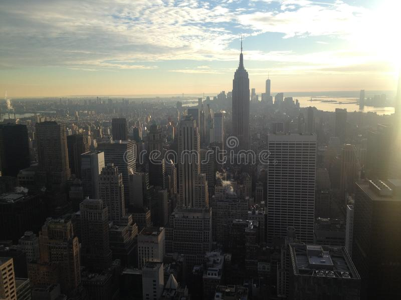 Horizon de New York - Manhattan photographie stock