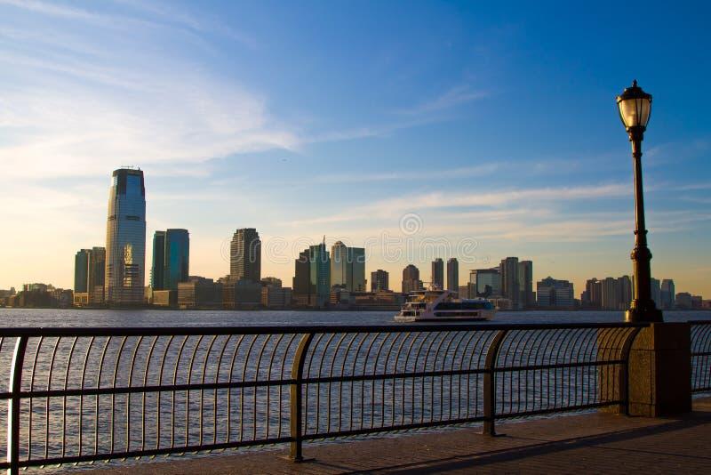 Horizon de Newark photo stock