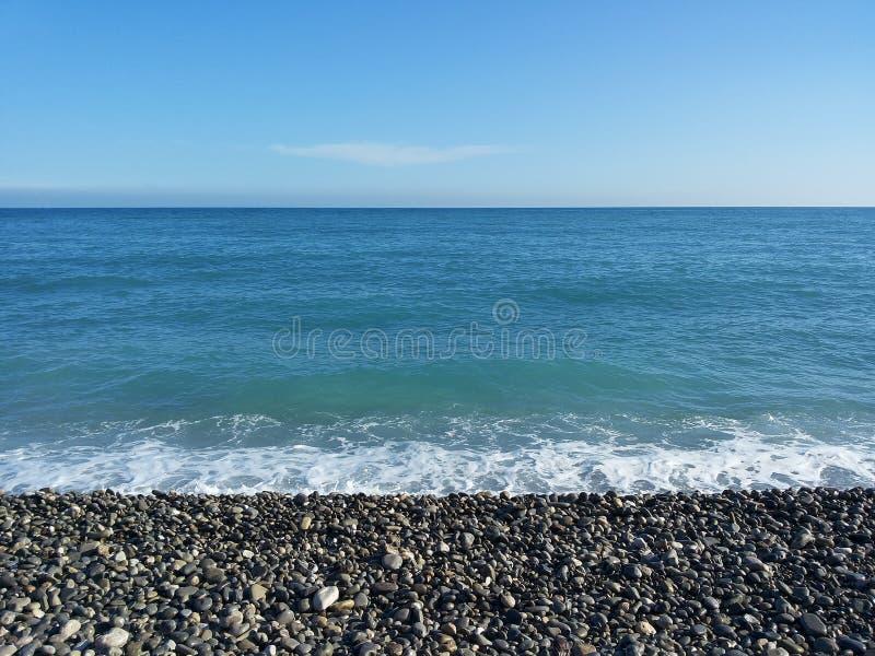 Horizon de Nice photo libre de droits