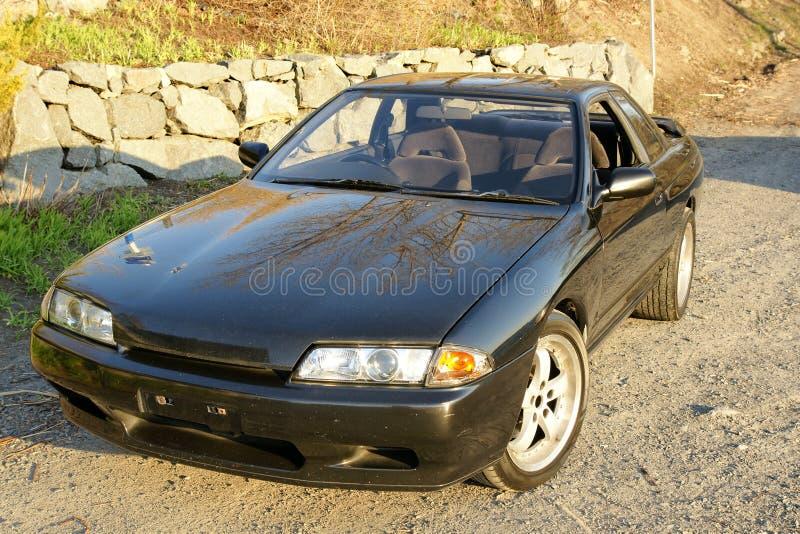 Horizon de Nissans image stock