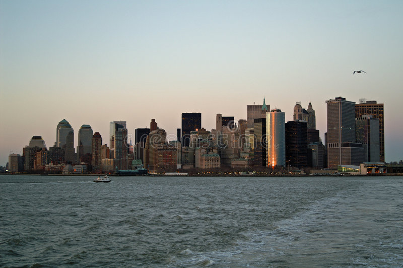 Horizon de NYC photos libres de droits