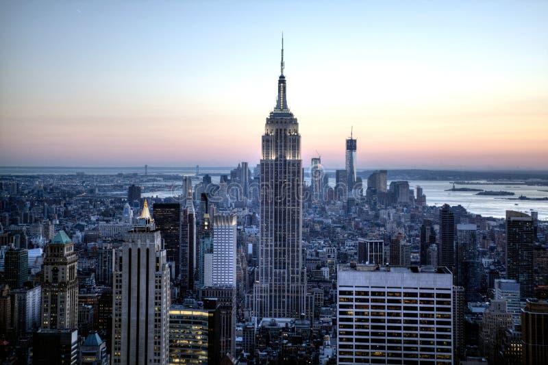 Horizon de NYC photo stock