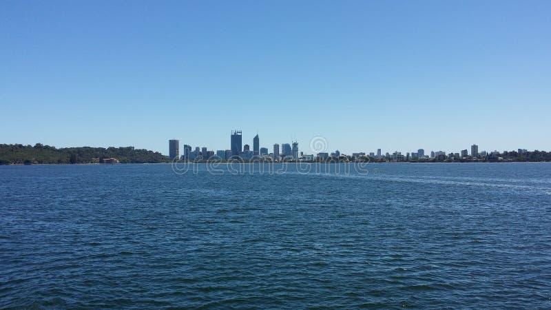 Horizon de Perth image libre de droits