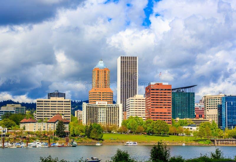 Horizon de Portland photo libre de droits