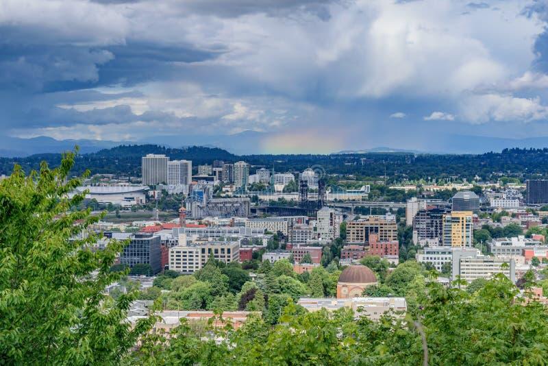 Horizon de Portland photos stock