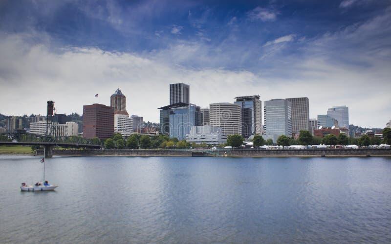 Horizon de Portland Orégon image libre de droits