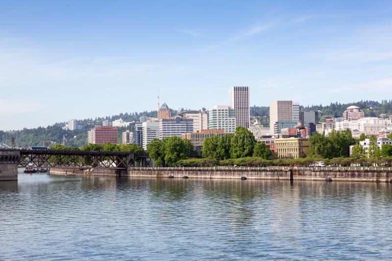 Horizon de Portland, Orégon images libres de droits