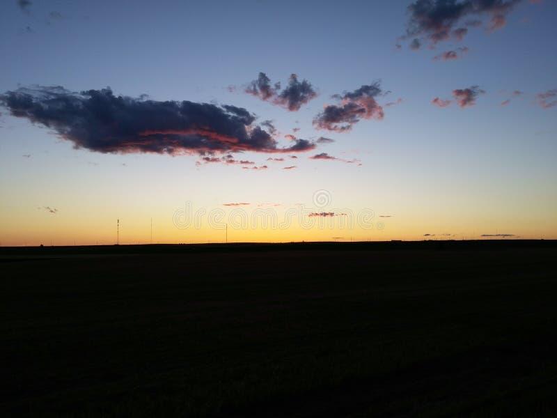 Horizon de prairie photo libre de droits