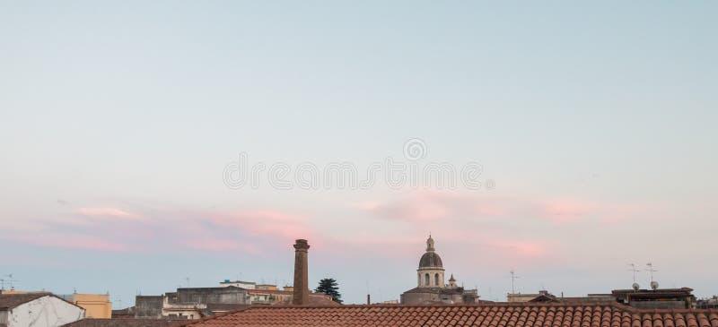 Horizon de Riposto photographie stock libre de droits