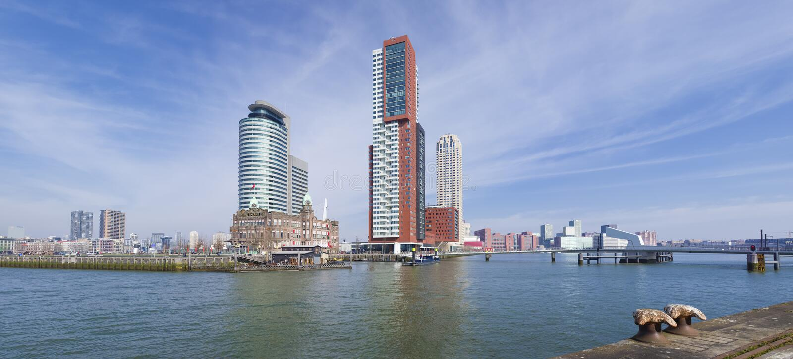 Horizon de Rotterdam images stock