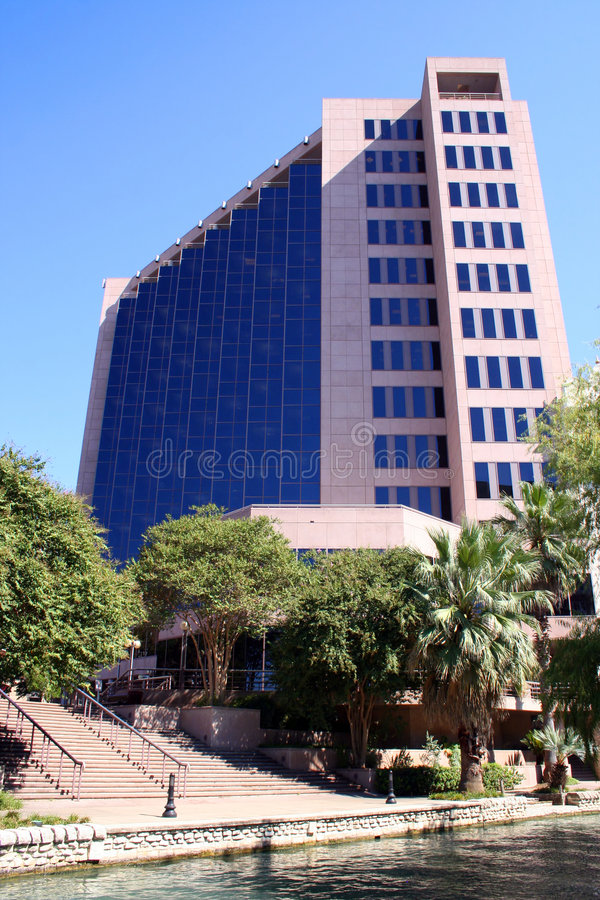 Horizon de San Antonio le Texas image stock