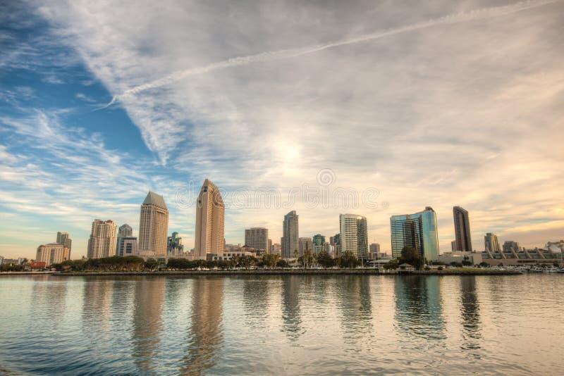Horizon de San Diego photos stock