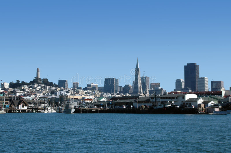 Horizon de San Francisco image libre de droits