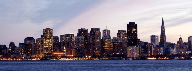 Horizon de San Francisco photos libres de droits
