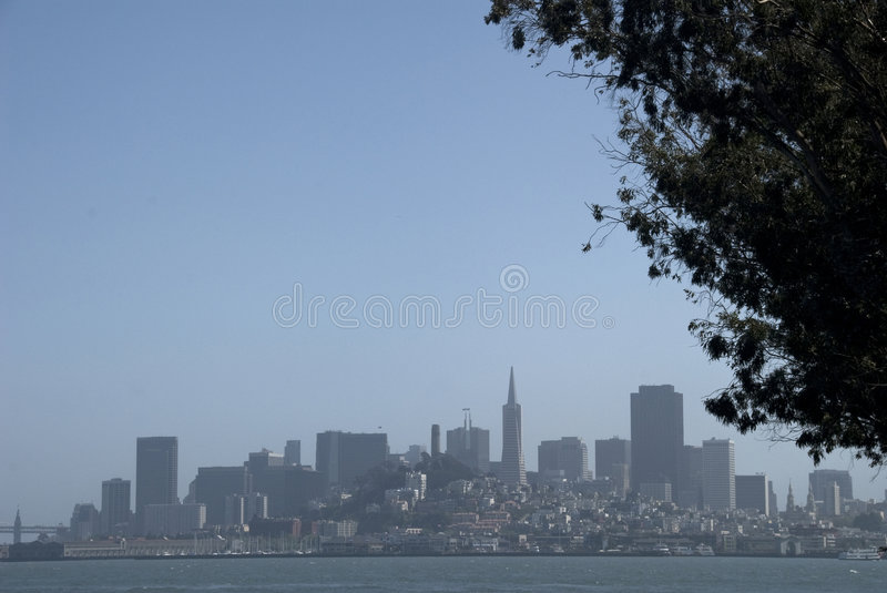 Horizon de San Francisco photos stock