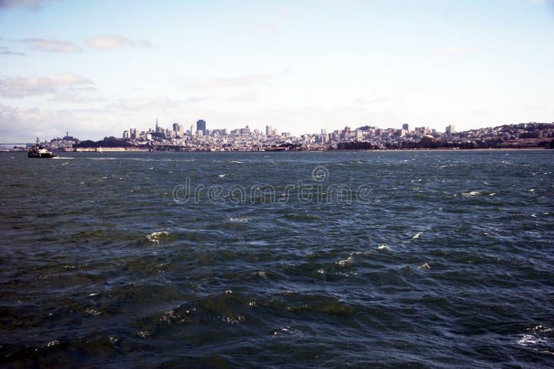 Horizon de San Francisco, la Californie, Etats-Unis photo stock