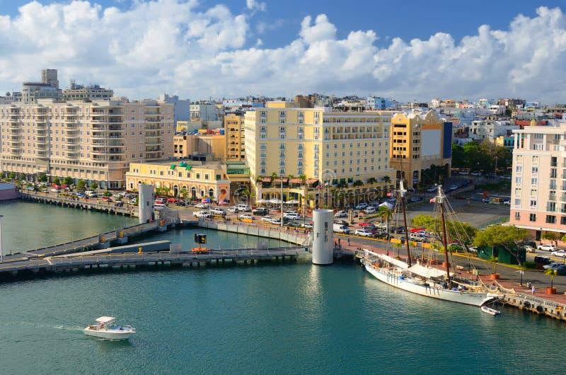 Horizon de San Juan photo stock