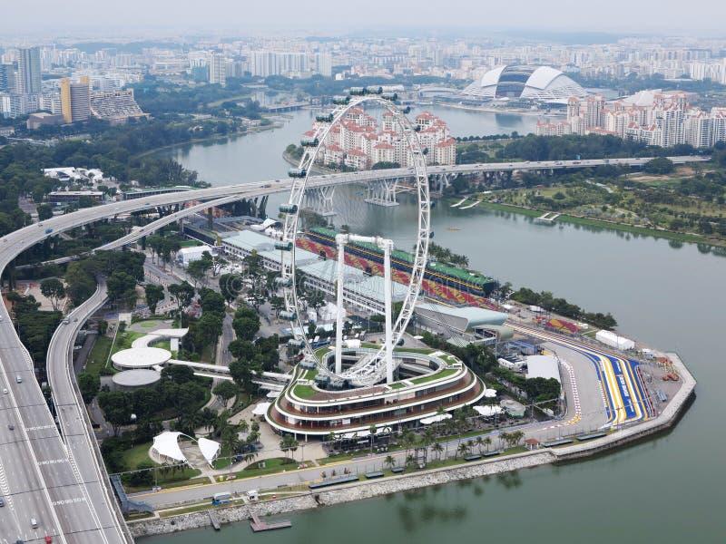 Download Horizon de Singapour photographie éditorial. Image du nuit - 45365052