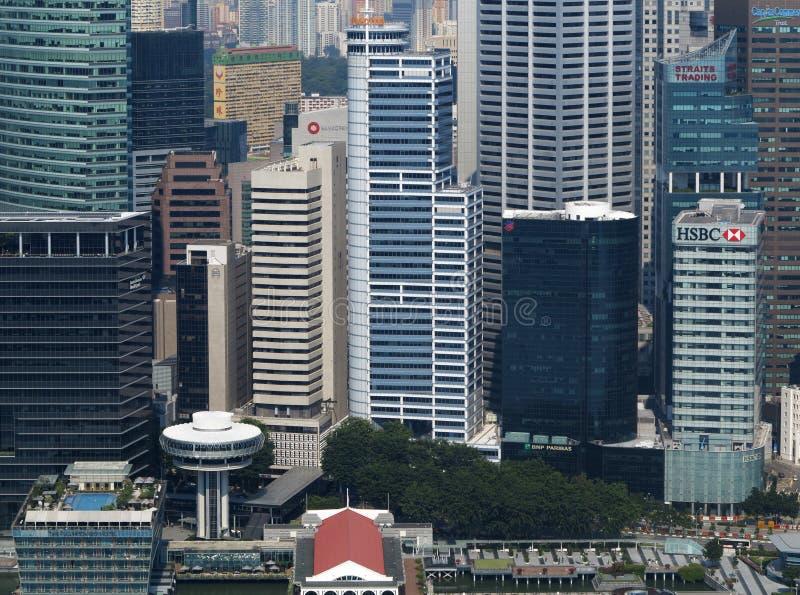 Download Horizon de Singapour photo stock éditorial. Image du nuit - 45371778
