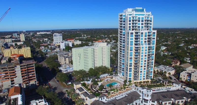 Horizon de St Petersbourg, la Floride photo stock