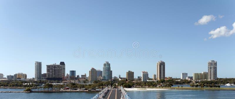 Horizon de St Petersburg photo libre de droits