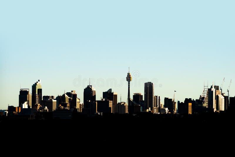 Horizon de Sydney, Australie images stock