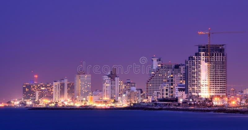 Horizon de Tel Aviv images libres de droits