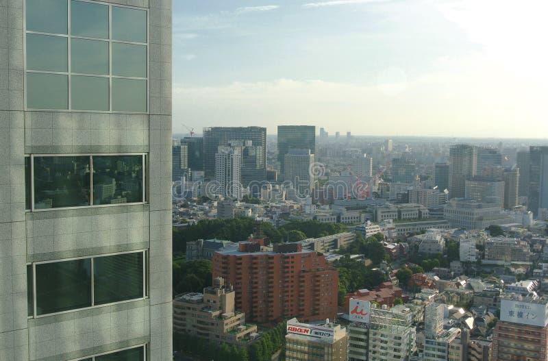 Horizon de Tokyo Japon images libres de droits