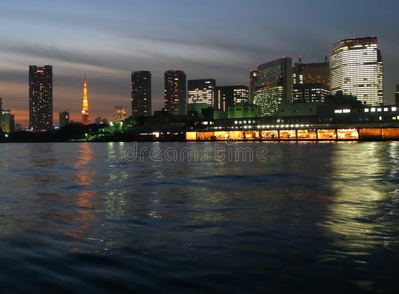 Horizon de Tokyo, Japon image stock