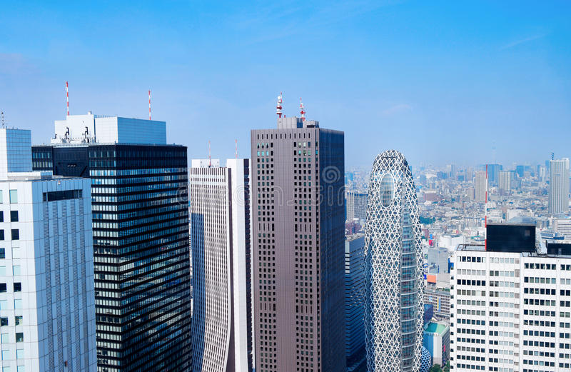 Horizon de Tokyo - Japon photos stock