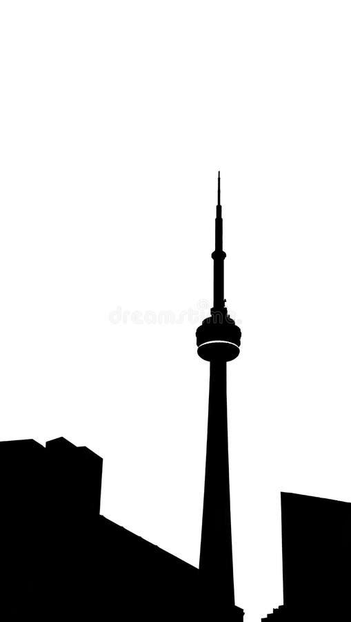 Horizon de Toronto Canada image libre de droits