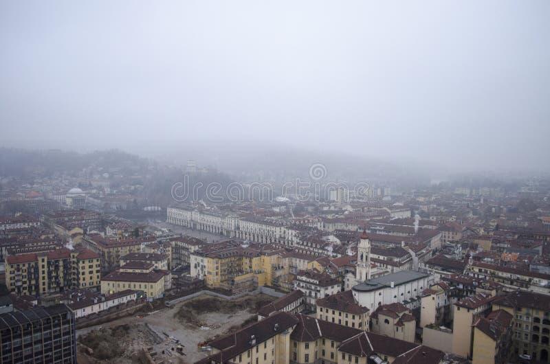 Horizon de Turin image libre de droits