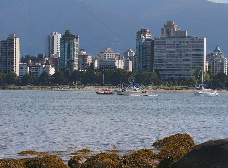 Horizon de Vancouver images libres de droits