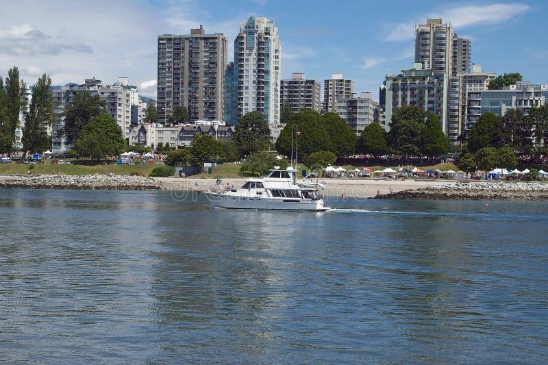 Horizon de Vancouver images stock
