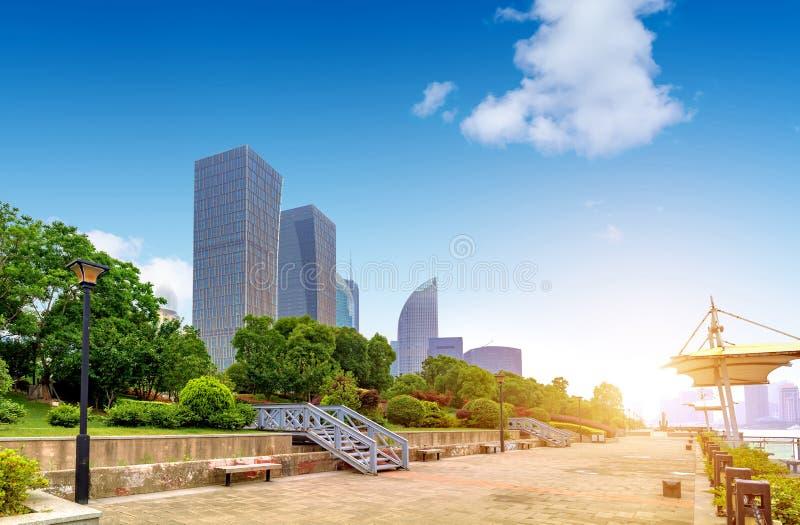 Horizon de ville de Changha? images libres de droits