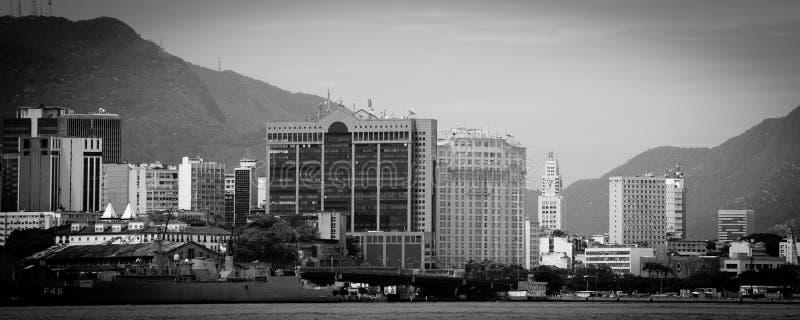 Horizon de ville de Rio de Janeiro photographie stock