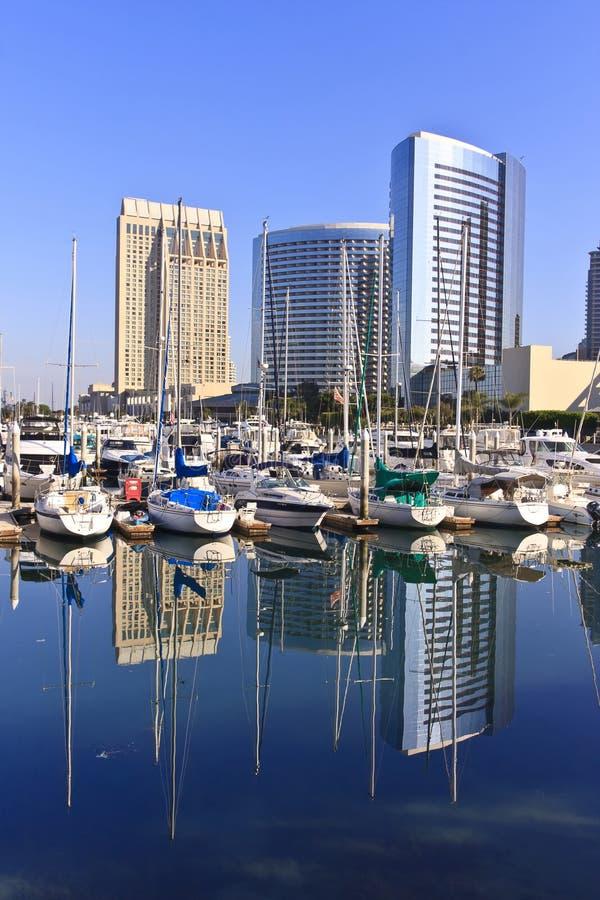 Horizon de ville de San Diego photos stock