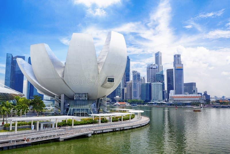 Horizon de ville de Singapour photos stock