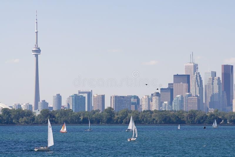 Horizon de ville de Toronto images libres de droits
