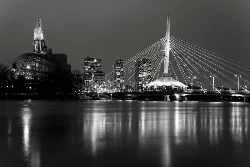 Horizon de Winnipeg images stock