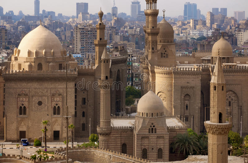 Horizon du Caire, Egypte photo libre de droits