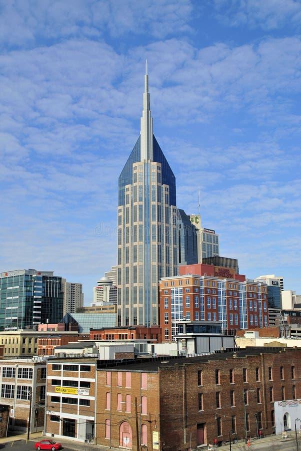 Horizon du centre de Nashville, Tennessee photographie stock