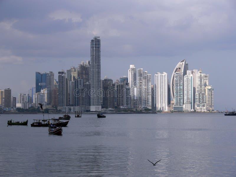 Horizon du Panama photo libre de droits