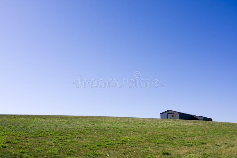 Horizon et cabane photos stock