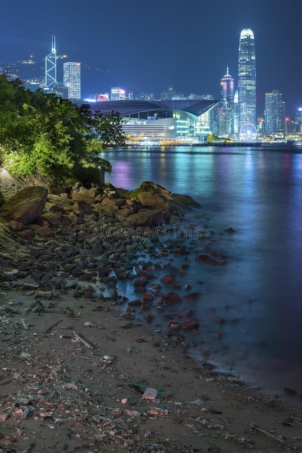 Horizon et port de Hong Kong photos stock