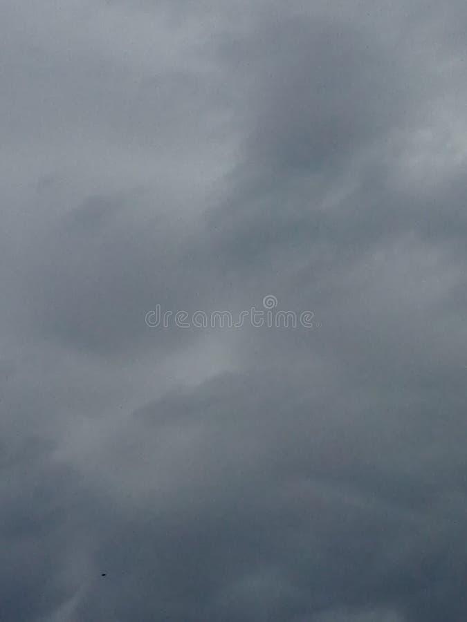 horizon grisâtre d'après-midi image stock
