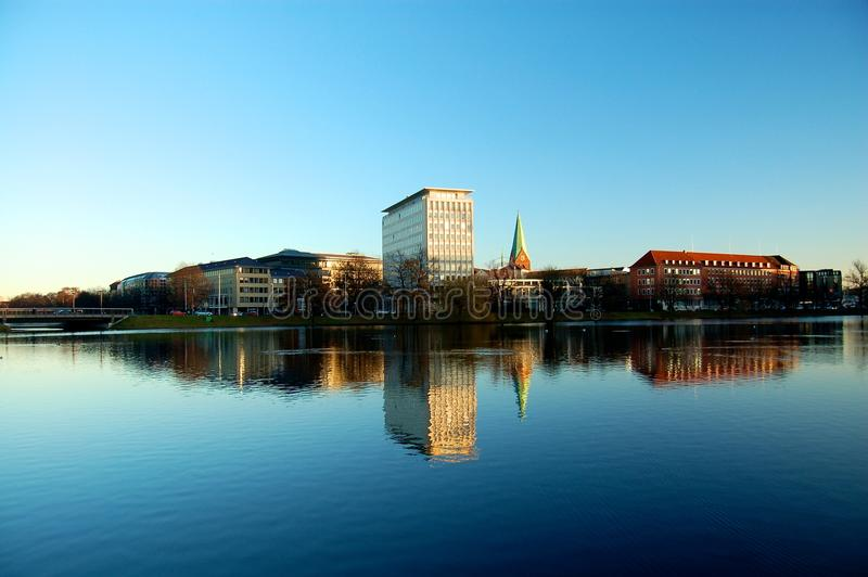 Horizon Kiel, Duitsland royalty-vrije stock afbeeldingen