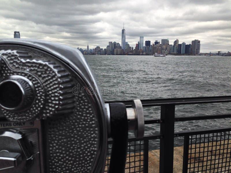 Horizon New York photo libre de droits